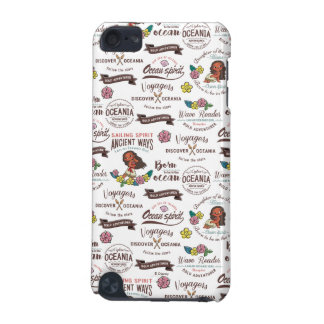 Moana | Bold Adventurer Pattern iPod Touch (5th Generation) Cases