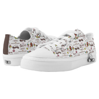 Moana | Bold Adventurer Pattern Low-Top Sneakers