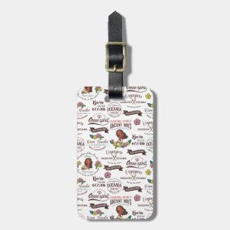 Moana | Bold Adventurer Pattern Luggage Tag