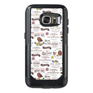 Moana | Bold Adventurer Pattern OtterBox Samsung Galaxy S7 Case