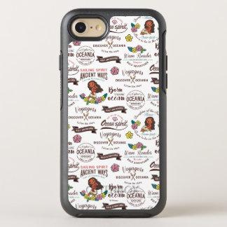 Moana | Bold Adventurer Pattern OtterBox Symmetry iPhone 8/7 Case