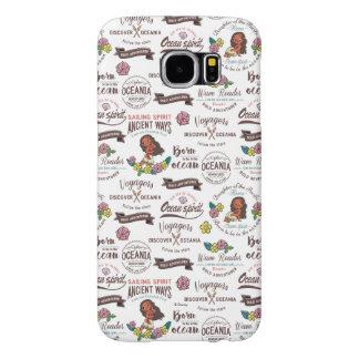 Moana | Bold Adventurer Pattern Samsung Galaxy S6 Cases