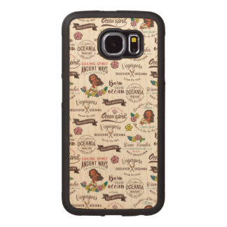 Moana | Bold Adventurer Pattern Wood Phone Case