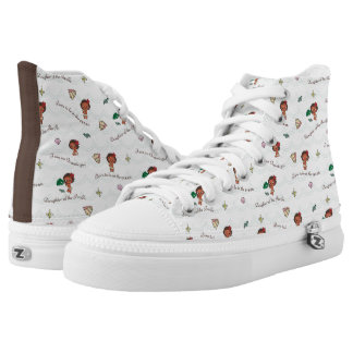 Moana | Born to be in the Ocean Pattern High Tops