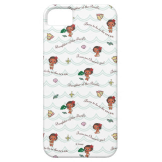 Moana | Born to be in the Ocean Pattern iPhone 5 Covers