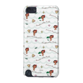 Moana | Born to be in the Ocean Pattern iPod Touch (5th Generation) Cover