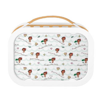 Moana | Born to be in the Ocean Pattern Lunchbox