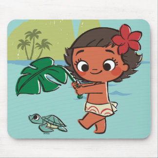 Moana | Born to be in the Sea Mouse Pad