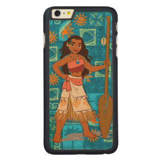 Moana | Daughter Of The Sea Carved® Maple iPhone 6 Plus Case