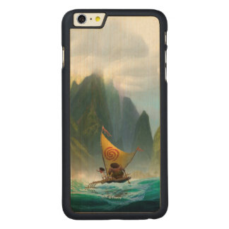 Moana | Discover Oceania Carved® Maple iPhone 6 Plus Case