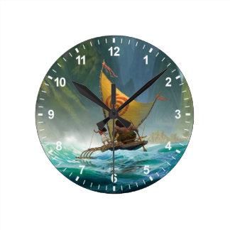 Moana | Discover Oceania Round Clock