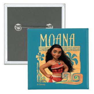 Moana | Find Your Way 2 Inch Square Button