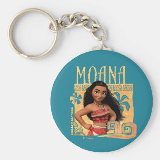 Moana | Find Your Way Basic Round Button Keychain