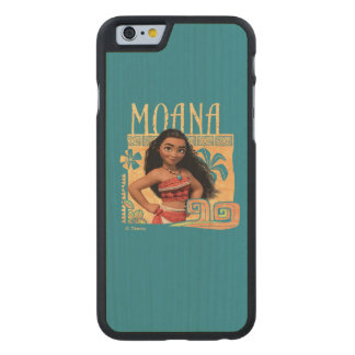 Moana | Find Your Way Carved® Maple iPhone 6 Case