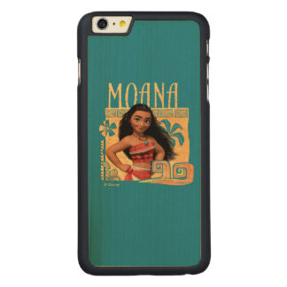 Moana | Find Your Way Carved Maple iPhone 6 Plus Case