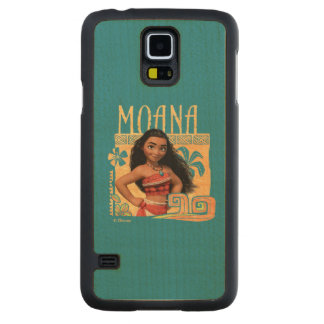 Moana | Find Your Way Maple Galaxy S5 Slim Case