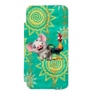 Moana | First Mate & Top Rooster Incipio Watson™ iPhone 5 Wallet Case