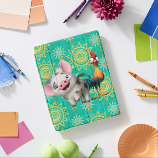 Moana   First Mate & Top Rooster iPad Cover