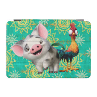 Moana   First Mate & Top Rooster iPad Mini Cover