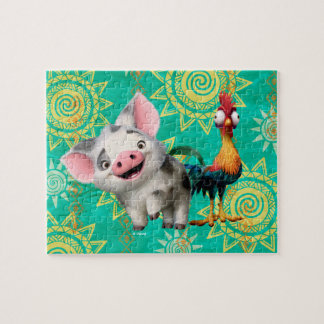 Moana | First Mate & Top Rooster Jigsaw Puzzle