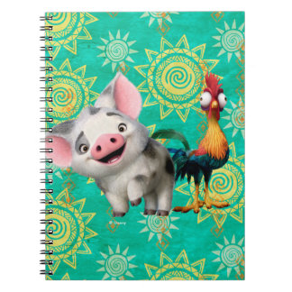 Moana | First Mate & Top Rooster Notebook