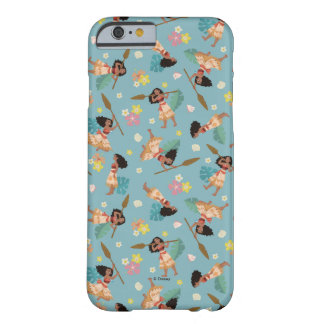 Moana | Floral Pattern Barely There iPhone 6 Case