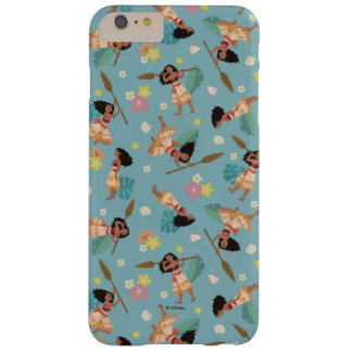 Moana | Floral Pattern Barely There iPhone 6 Plus Case