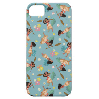 Moana | Floral Pattern iPhone 5 Cover