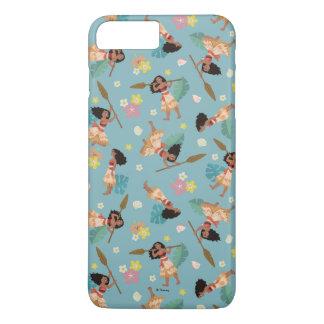 Moana | Floral Pattern iPhone 7 Plus Case
