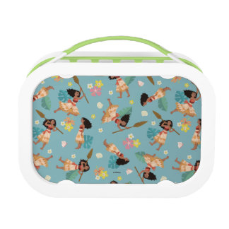 Moana | Floral Pattern Lunch Boxes