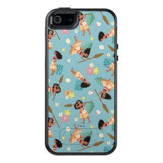 Moana | Floral Pattern OtterBox iPhone 5/5s/SE Case