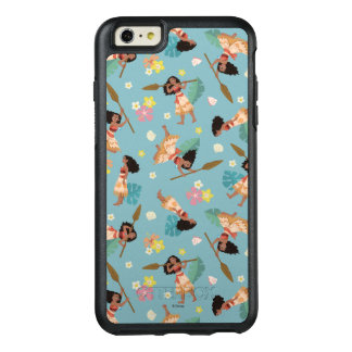 Moana | Floral Pattern OtterBox iPhone 6/6s Plus Case