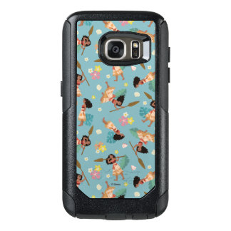 Moana | Floral Pattern OtterBox Samsung Galaxy S7 Case