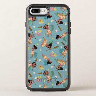 Moana | Floral Pattern OtterBox Symmetry iPhone 8 Plus/7 Plus Case