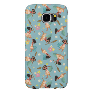 Moana | Floral Pattern Samsung Galaxy S6 Cases