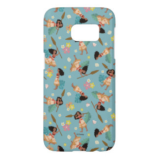 Moana | Floral Pattern Samsung Galaxy S7 Case