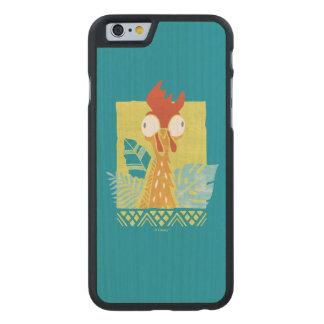 Moana | Heihei - I'm In Charge Here Carved® Maple iPhone 6 Slim Case