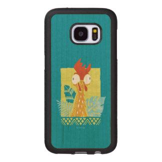 Moana | Heihei - I'm In Charge Here Wood Samsung Galaxy S7 Case