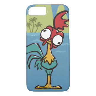Moana   Heihei - Very Important Rooster iPhone 8/7 Case