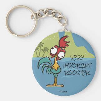 Moana | Heihei - Very Important Rooster Keychain