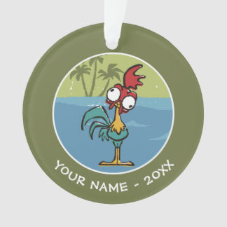 Moana   Heihei - Very Important Rooster Ornament
