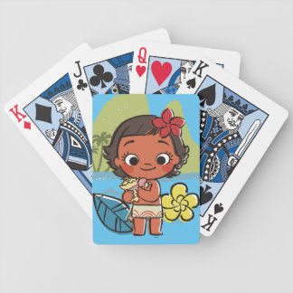 Moana | Island Daughter Bicycle Playing Cards