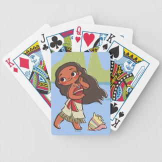 Moana | Island Girl Poker Deck