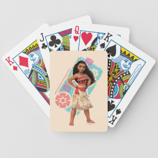 Moana | Island Girl Poker Deck