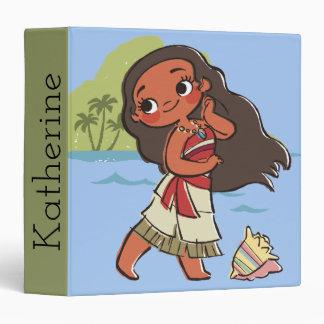 Moana | Island Girl Vinyl Binder
