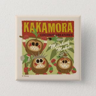 Moana | Kakamora - Coconut Creatures 2 Inch Square Button