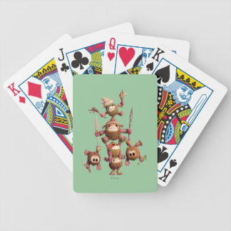 Moana | Kakamora - Coconut Creatures Bicycle Playing Cards