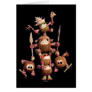 Moana   Kakamora - Coconut Pirates Card