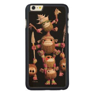 Moana   Kakamora - Coconut Pirates Carved Maple iPhone 6 Plus Case