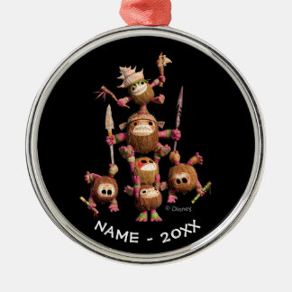 Moana   Kakamora - Coconut Pirates Metal Ornament